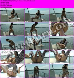 HotKinkyJo.xxx [06.27.2012] Hot Kinky Jo - Horse Cock Fuck On Boat Thumbnail